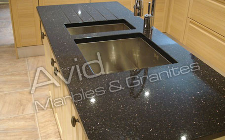 Black Galaxy Granite Suppliers, Manufacturers, Exporters in India