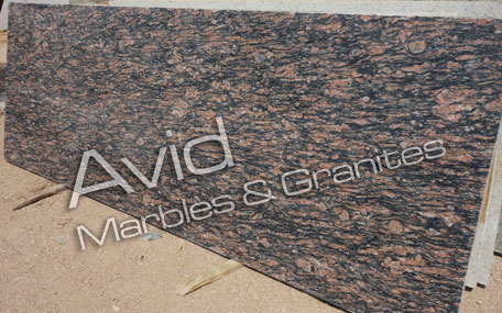 Exotic Red Granite Producers in India