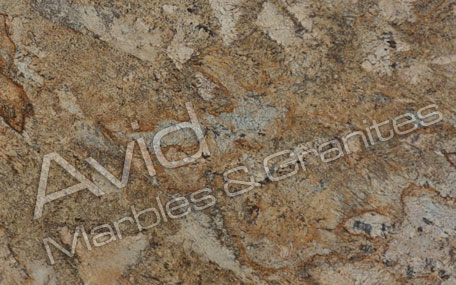 Alaska Gold Granite Exporters from India