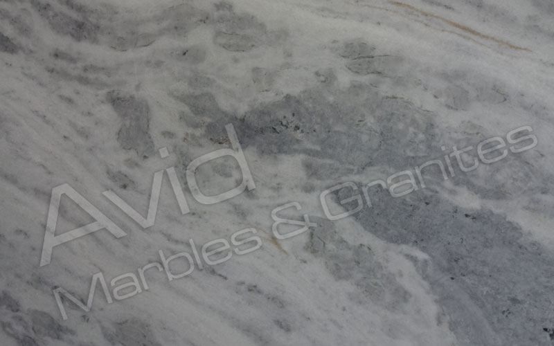 Cloudy White Marble Manufacturers from India