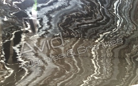 Charcoal Shadow Marble Exporters from India