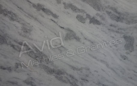 Cloudy White Marble Suppliers from India