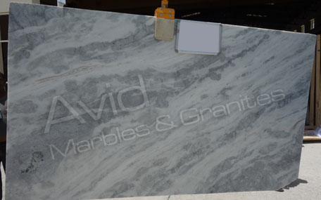 Cloudy White Marble Exporters from India
