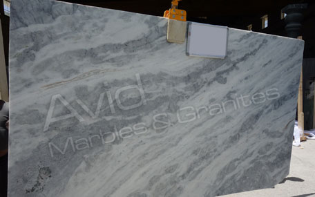 Cloudy White Marble Wholesalers in India