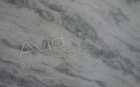 Cloudy White Marble Producers in India
