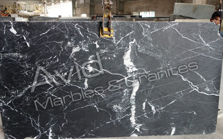Marine Black Marble Suppliers from India