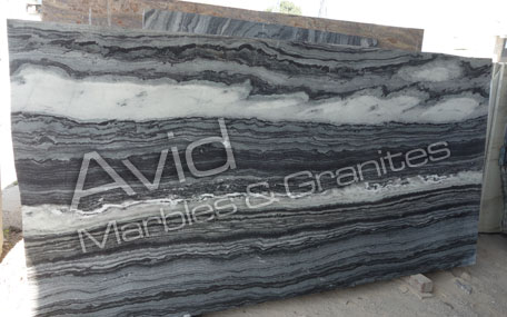 India Mercury Black Marmor
