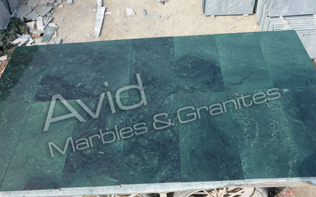 Plain Green Marble Producers in India