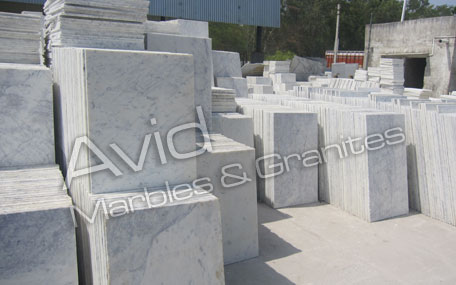 Purple White Marble Exporters from India