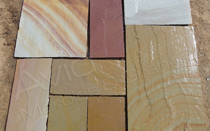 Camel Dust Sandstone Paving Manufacturers from India