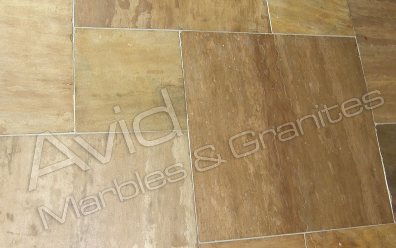 Panther Yellow Sandstone Stone Suppliers in India