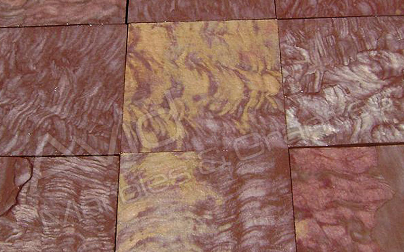Speckle Brown Sandstone Paving Manufacturers from India