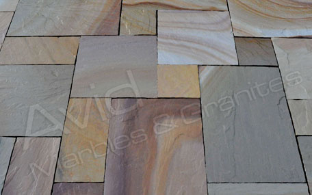 Camel Dust Natural Sandstone Paving Suppliers from India