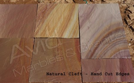 Camel Dust Riven Sandstone Paving Suppliers in India