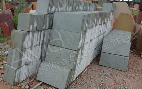 Lalitpur Grey Riven Sandstone Paving Suppliers in India
