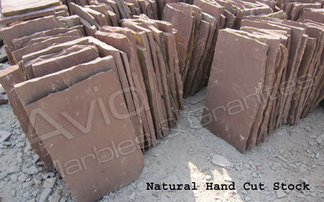 Mandana Red Natural Sandstone Paving Suppliers from India