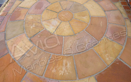 Modak Sandstone Patio Paving Suppliers in India