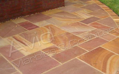 Modak Riven Sandstone Paving Suppliers in India