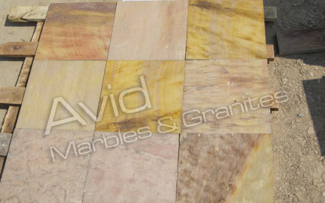 Panther Yellow Sandstone Stone Manufacturers in India
