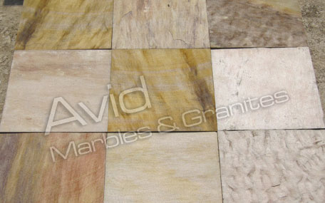 Panther Yellow Sandstone Stone Exporters in India