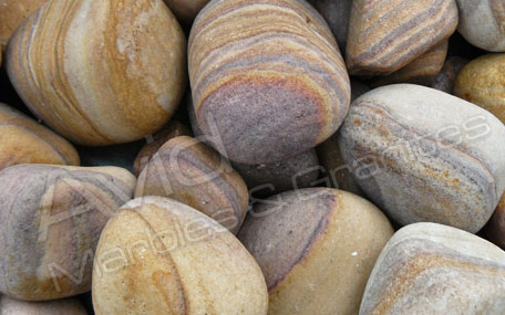 Rainbow Sandstone Sawn Honed Patio Pack Exporters in India
