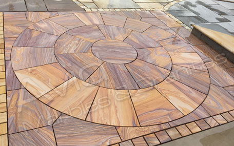 Rainbow Sandstone Pool Coping Pavers Suppliers