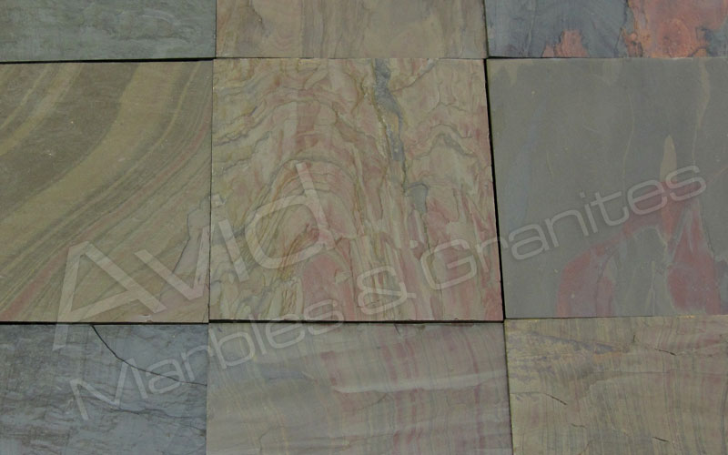 Multi Pink Slate Manufacturers from India