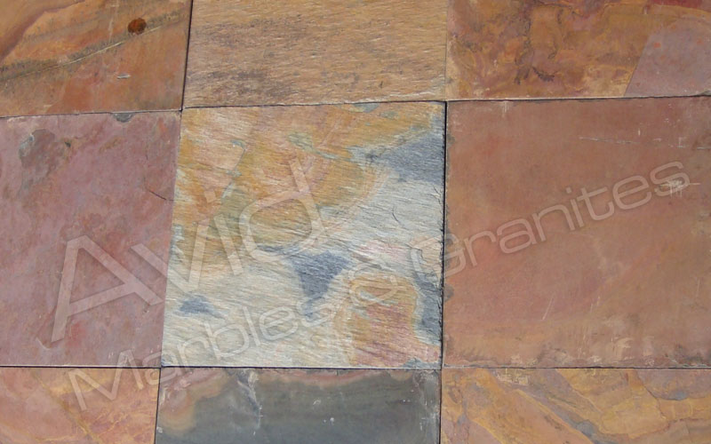 Raja Red Slate Flooring Tiles Suppliers Manufacturer