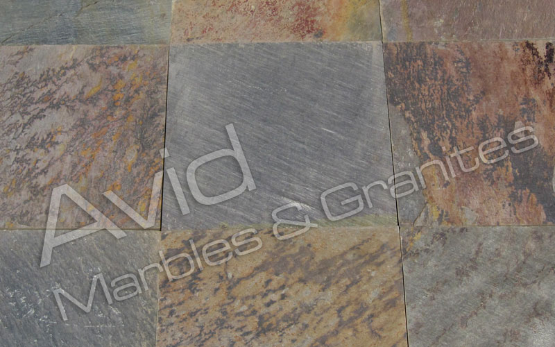 SRA Multicolor Slate Manufacturers from India