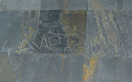 Black Rustic Natural Ledge Stone Suppliers in India