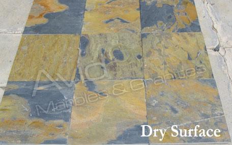 California Gold Slate Flooring Tiles Suppliers, Manufacturer