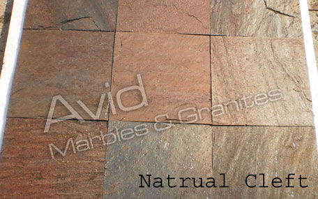 Copper Red Slate Tiles Suppliers from India