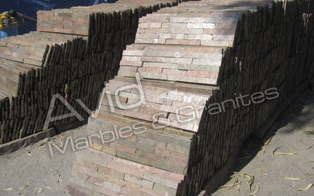 Copper Red Natural Ledge Stone Suppliers in India