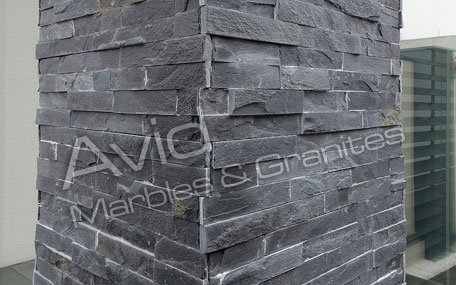 Jak Black Slate Tiles Suppliers from India