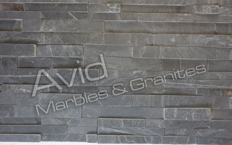 Jak Black Natural Ledge Stone Suppliers in India