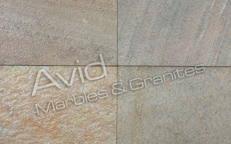 KK White Natural Ledge Stone Suppliers in India