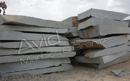 Silver Grey Slate Tiles Suppliers from India