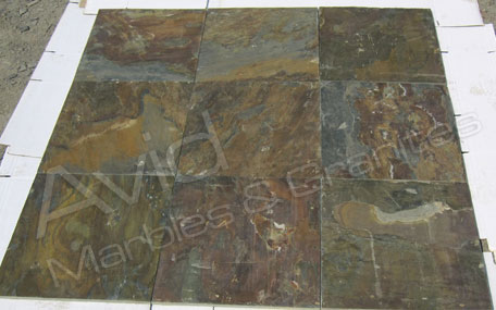 Vijaya Gold Slate Tiles Suppliers from India